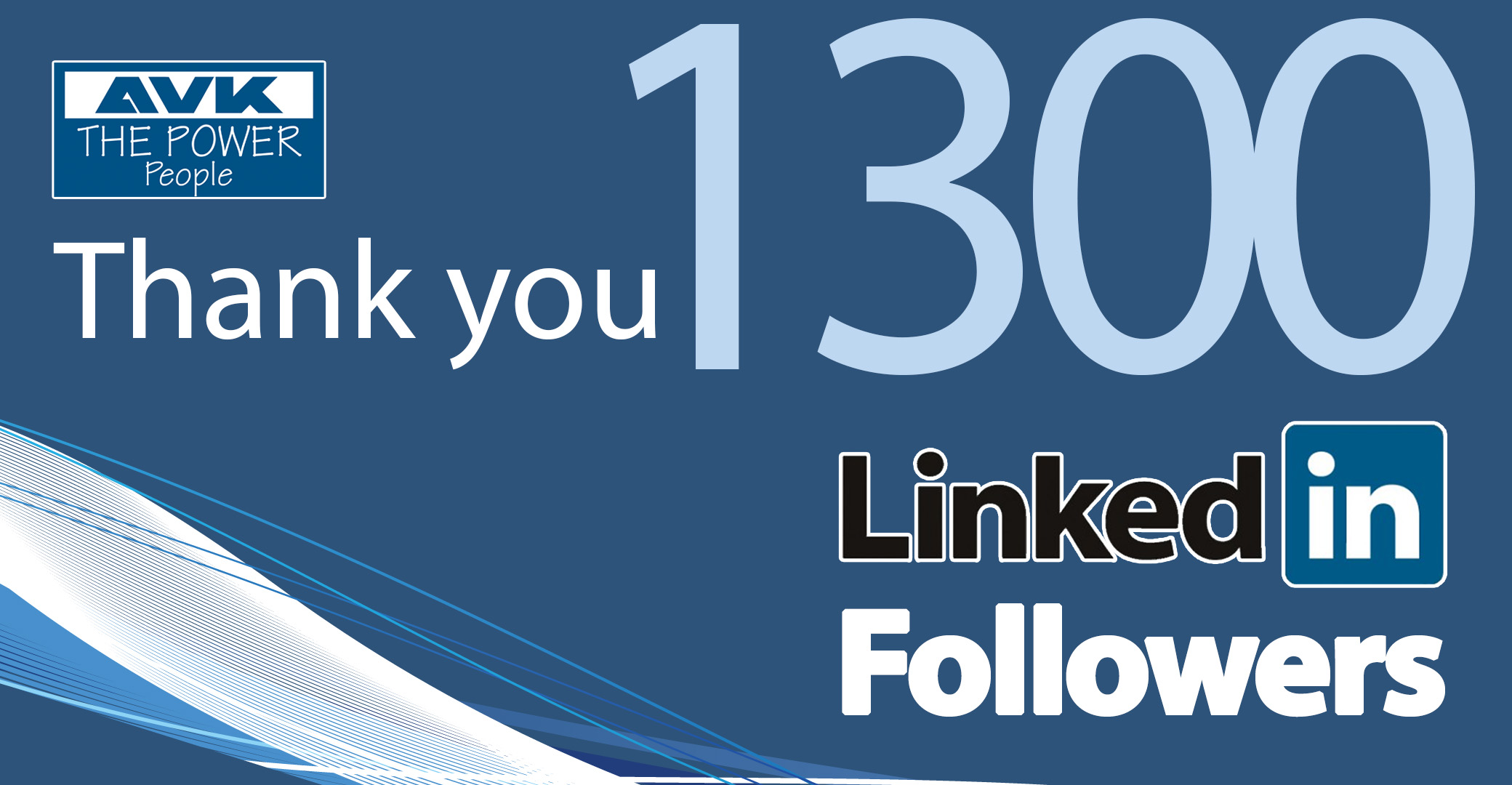 1,300 LinkedIn Followers milestone reached