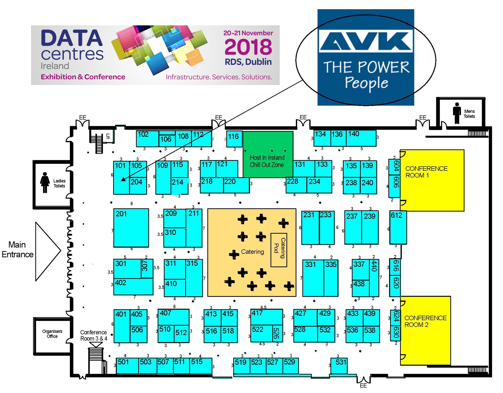 AVK to appear at Data Centres Ireland in Dublin