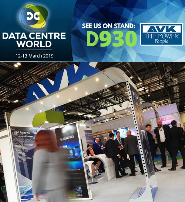 AVK Attends Data Centre World 2019