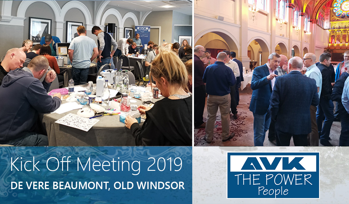 AVK Celebrates Performance at Annual Kick Off Meeting