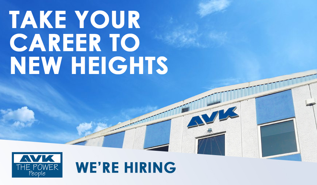 Need a New Challenge? AVK Are Looking For Talent Just Like You