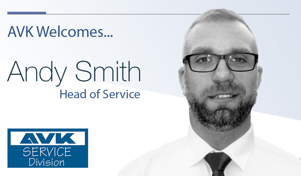 AVK Welcomes Andy Smith – New Head of Service