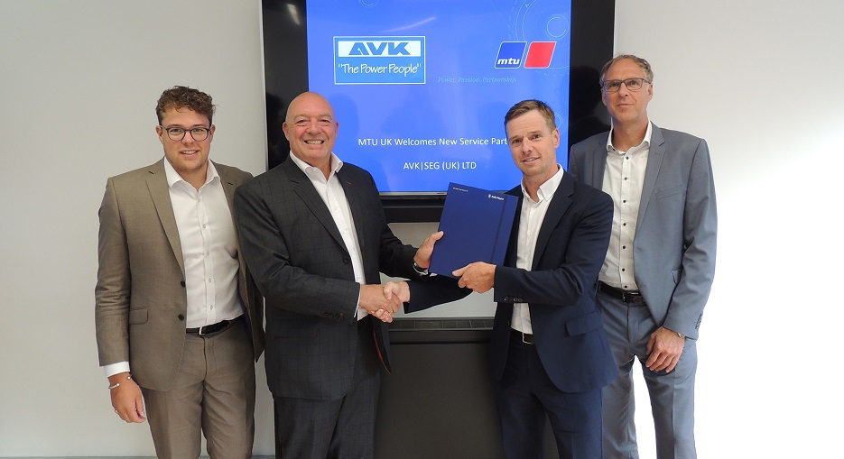 AVK and Rolls-Royce Enter into an Exclusive Partnership in the UK & Ireland for the Supply of Diesel Standby Gensets