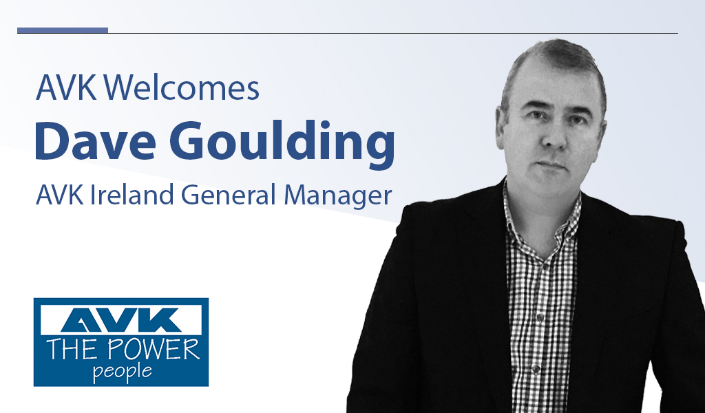 AVK Ireland goes from strength to strength with appointment of new General Manager Dave Goulding
